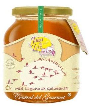 Miel de Lavanda artesana Jalea de Luz, tarro cristal 950gr.