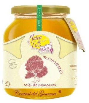 Miel de Romero pura artesana Jalea de Luz, tarro 950gr
