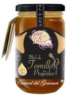 Miel de Tomillo con Propóleo cruda