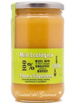 Honey Organic Raw Gourmet Wild Flowers Verdemiel