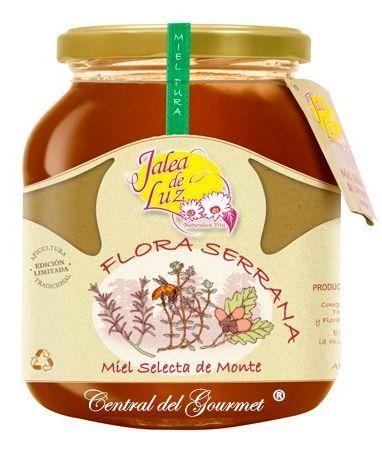 Miel de Aragon cruda Flora Serrana gourmet