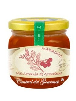 Miel de Madroño cruda artesana Jalea de Luz 250