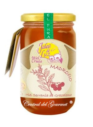 Miel de Madroño cruda artesana Jalea de Luz 500