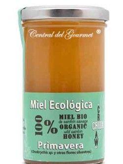 Miel Ecológica Cruda Gourmet Primavera Verdemiel 375