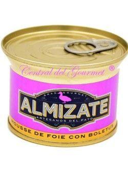 Mousse de Foie Gourmet con Boletus Almizate