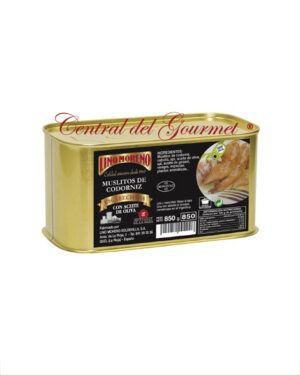 Codornices en escabeche gourmet Muslitos Lino Moreno