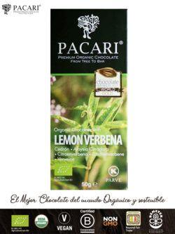 PACARI Chocolate Premium Ecológico con Cedrón