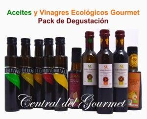 Aceites Gourmet & Vinagres Ecologicos Gourmet Pack 5+5