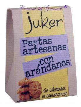 Pastas artesanas con Arandanos Juker, 300gr