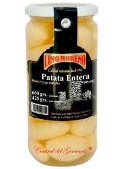 Patatas cocidas enteras baby primera Lino Moreno