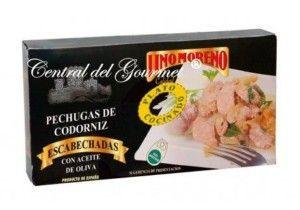 Pechugas de Codorniz Escabechada Gourmet Lino Moreno