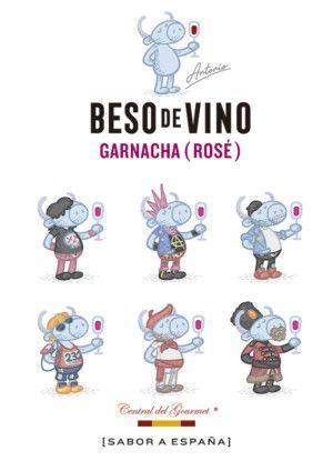personajes Beso de Vino Garnacha Rose 2018