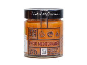 Salsa casera Pesto Meditarraneo Gourmet ecologica
