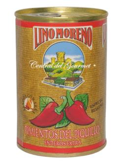 Pimientos del Piquillo Gourmet Enteros Lino Moreno