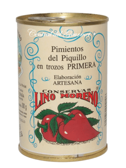 Pimientos del Piquillo Premium Trozos Primera Lino Moreno