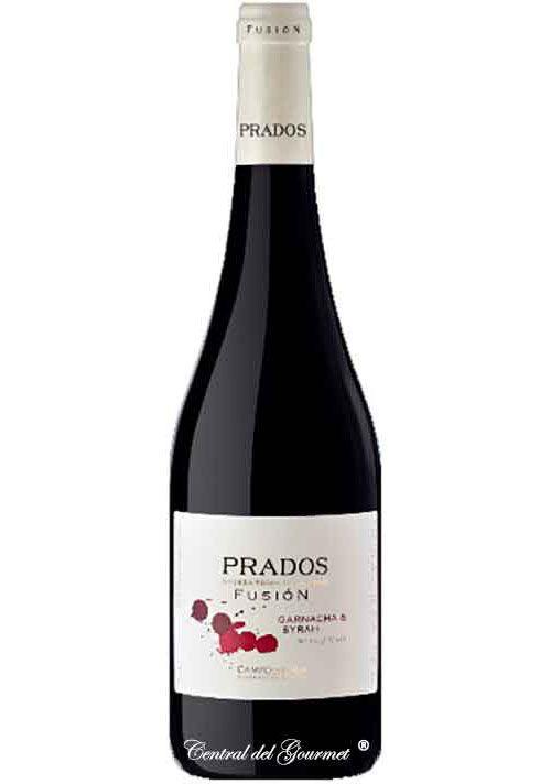 Vino Gourmet Prados Fusión Garnacha y Syrah 2016