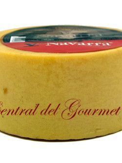 V de Navarra Queso entero leche cruda Oveja Natural 3kg