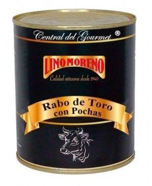 Rabo de Toro estofado con Pochas Gourmet Lino Moreno