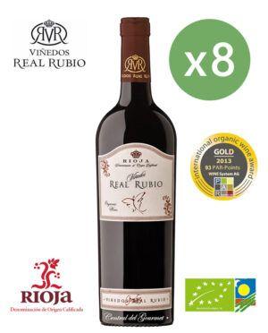 Rioja Ecologico Real Rubio Tinto 2019 Caja