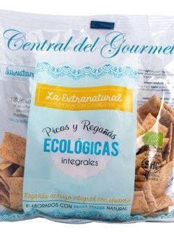 Regañas Gourmet integrales de trigo con sésamo ecologicas La Extranatural