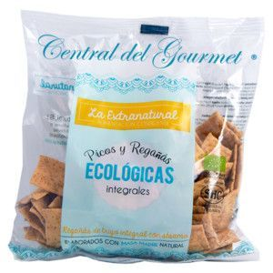 Breadspikes Gourmet whole wheat with sesame ecologicas The Extranatural