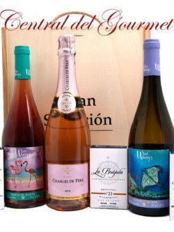 Regalo Gourmet vinos y conservas