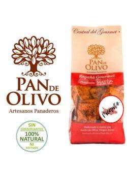 Regañá Gourmet Pimentón Picante Pan de Olivo
