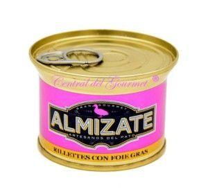 Rilletes de Pato con foie gras Gourmet Almizate