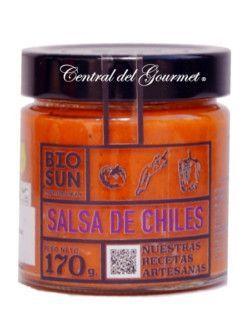 Salsa casera de Chile ecologica BIOSUN