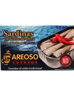 Sardinillas Picantes gourmet aceite oliva 16/22 120ml