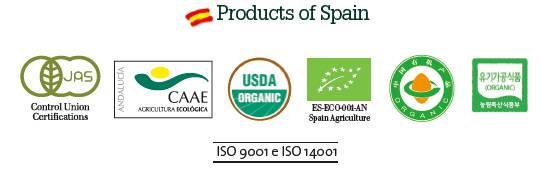 Soler Romero, certificados de agricultura ecologica Bio