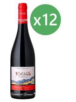 Divinis vino tinto Tempranillo 2016 Caja