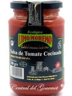 Salsa de Tomate Ecológico Gourmet Lino Moreno