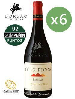 Borsao Tres Picos 2018 Caja