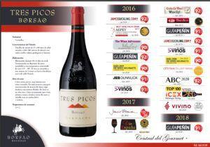 Borsao Tres Picos 2018 PREMIOS