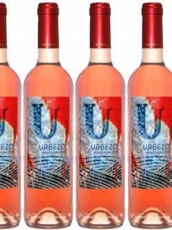 Vino Ecológico Gourmet Urbezo Rosado 2017 caja