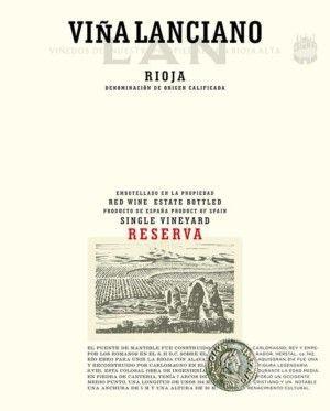 Bodegas LAN Viña Lanciano 2011 D.O. Rioja etiqueta