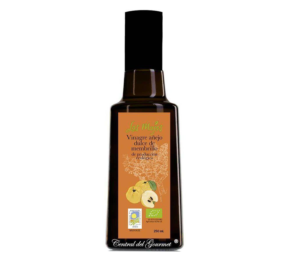 Vinagre añejo dulce de membrillo ecológico, los Majos
