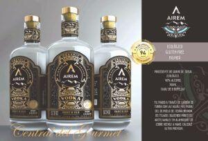Vodka Ultra Premium Organic Airem
